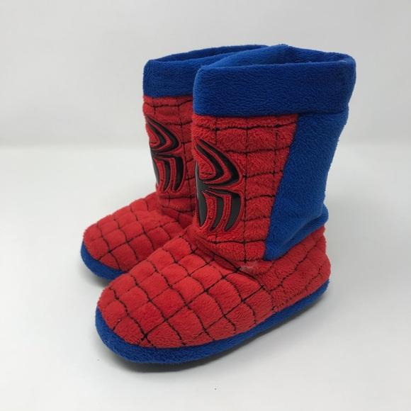 479366e9f0b2 Warm Marvel Spider-Man Slippers. M 5b973d8caaa5b8fbb2186aee